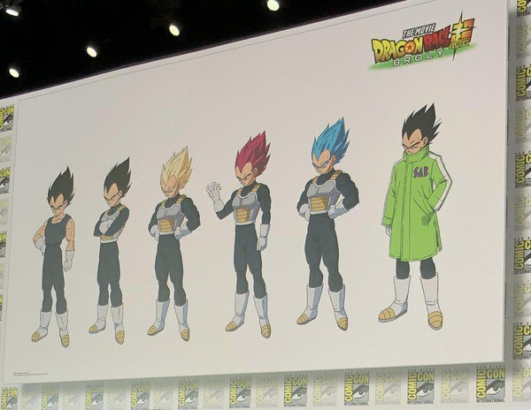 49754a6ed067 Dragon Ball Super: Broly trailer - Goku's and Vegeta's jackets are ...