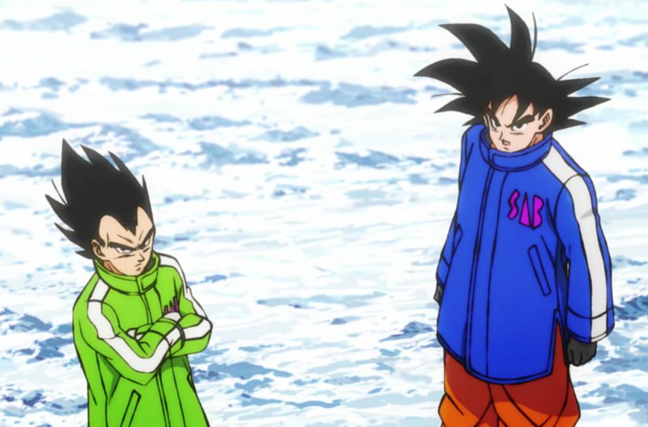 Dragon Ball Super Broly Trailer Goku S And Vegeta S Jackets Are