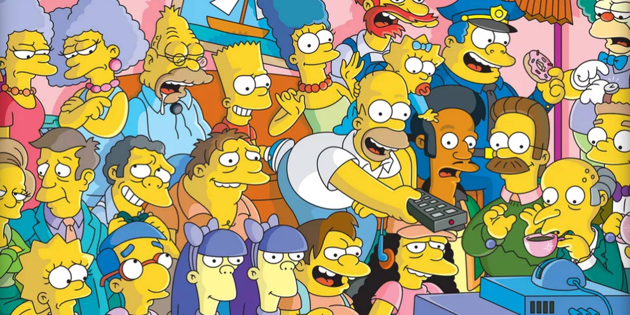 Simpsons group shot