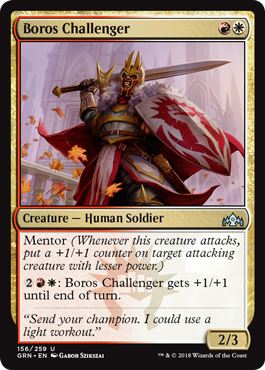 Magic: The Gathering - A Guide to Playing Boros Mentor in