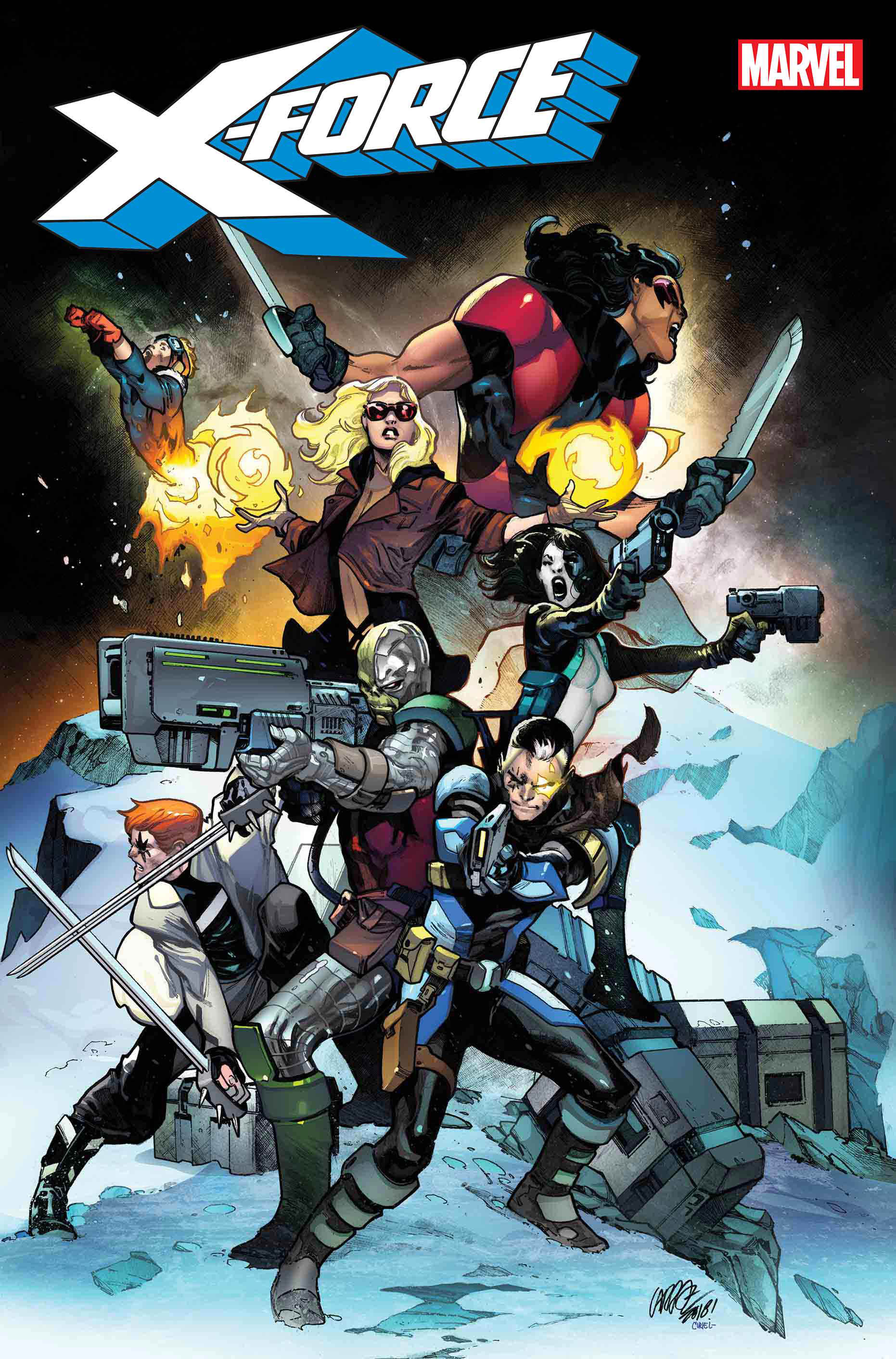 Marvel Comics - X-Force 2018 - issue 01 - Cover