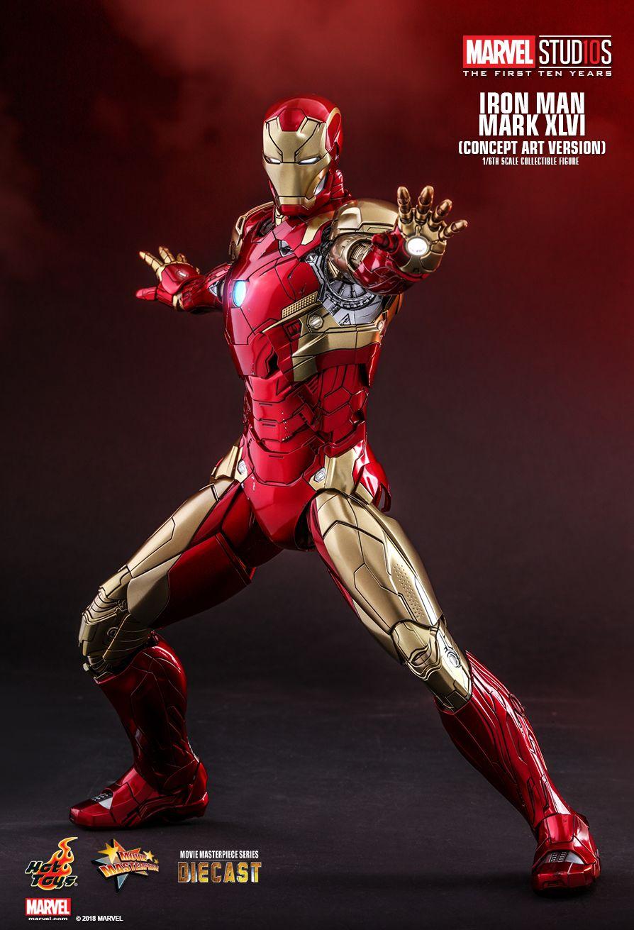 Hot Toys Iron Man Concept Figure