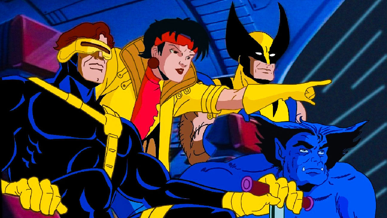 X-Men (FOX) [1992-1997]Shown from left: Cyclops, Jubilee, Beast, Wolverine