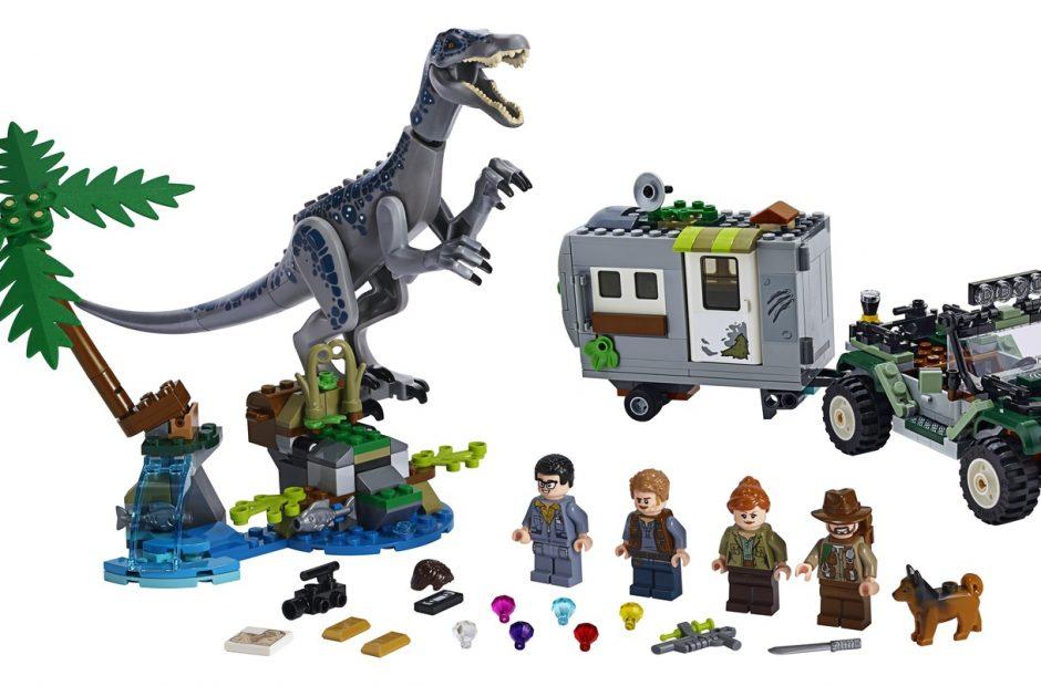 Lego Introduces Jurassic World Legend Of Isla Nublar The Nerdy