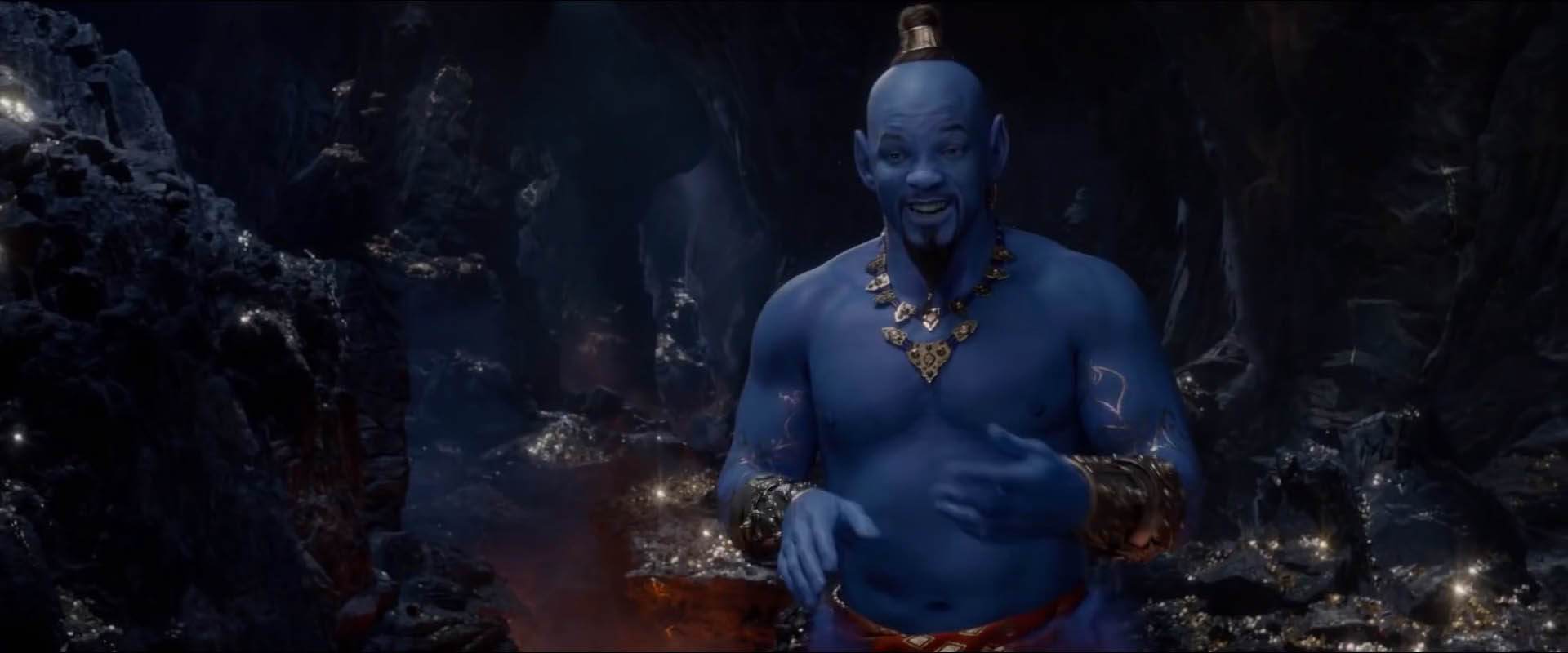 Aladdin Trailer Finally Shows Off The Blue Genie And