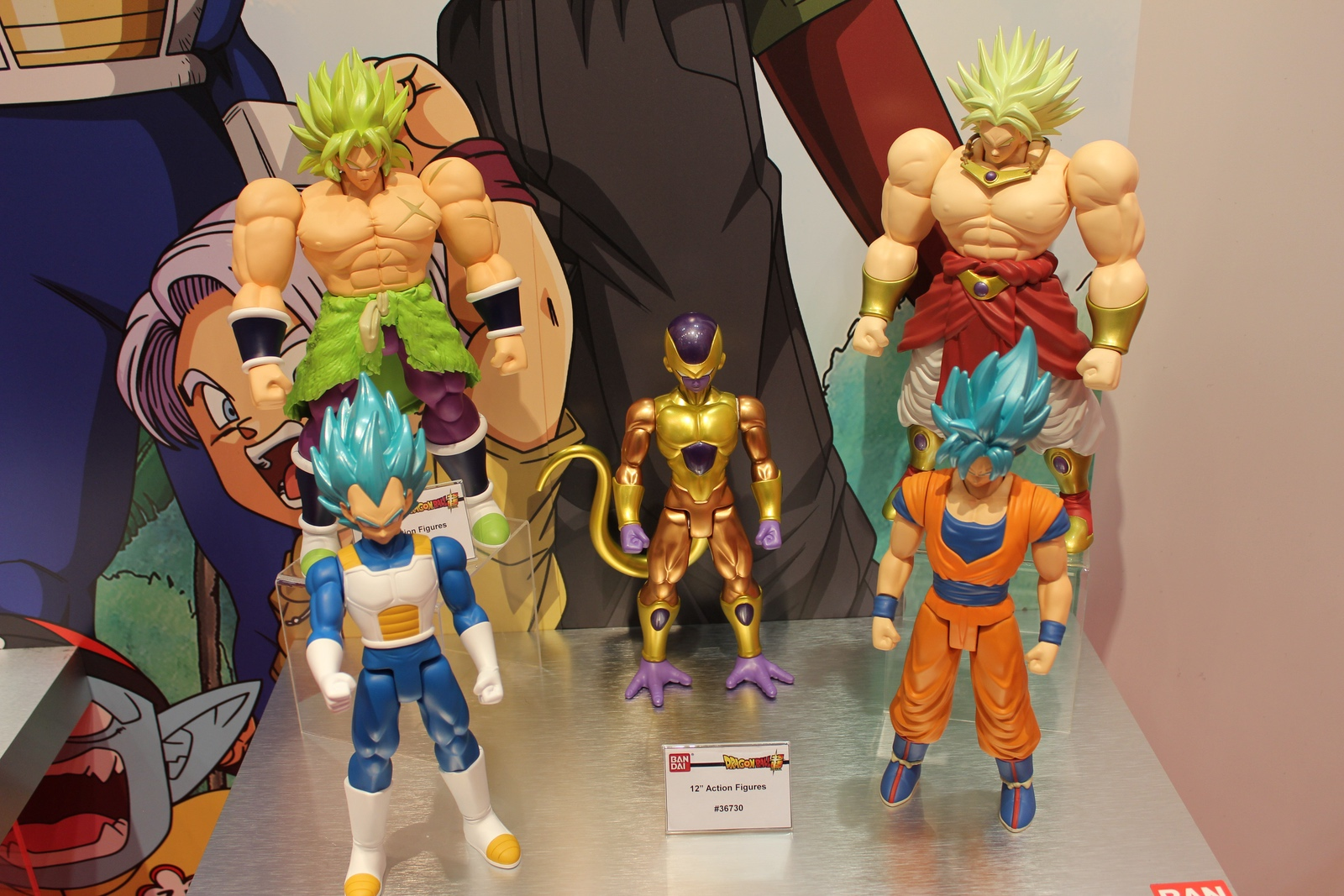 Bandai At Toy Fair Dragon Ball Z Godzilla Disney And More The