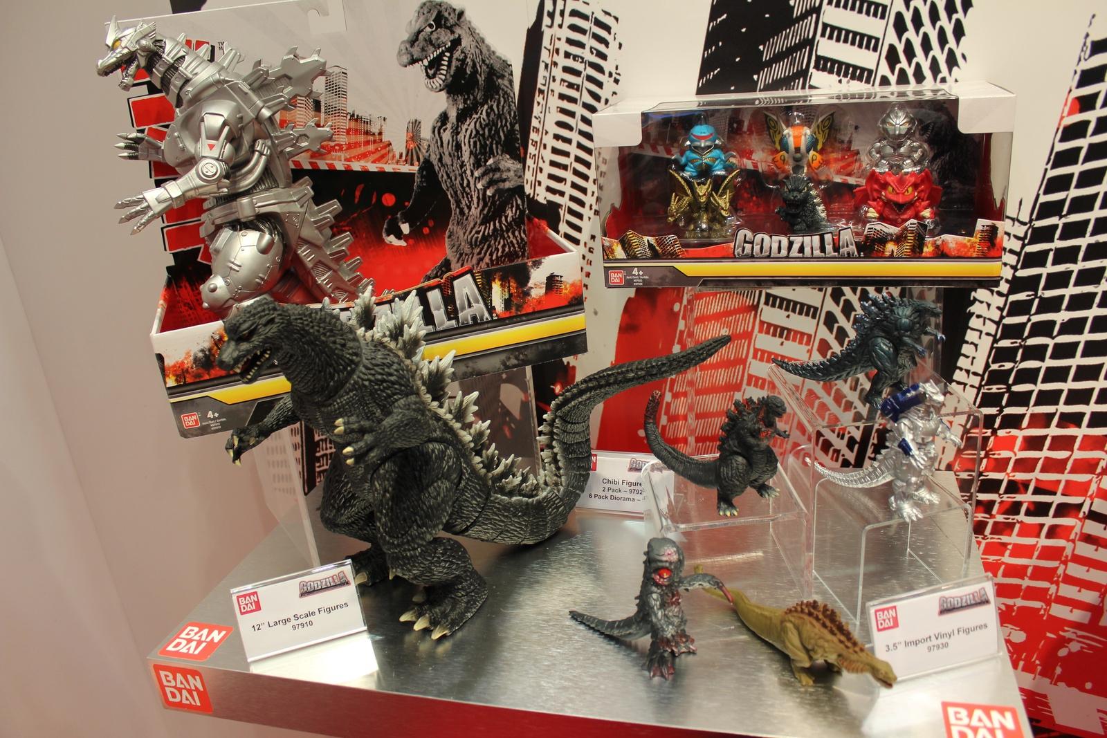 Bandai At Toy Fair Dragon Ball Z Godzilla Disney And