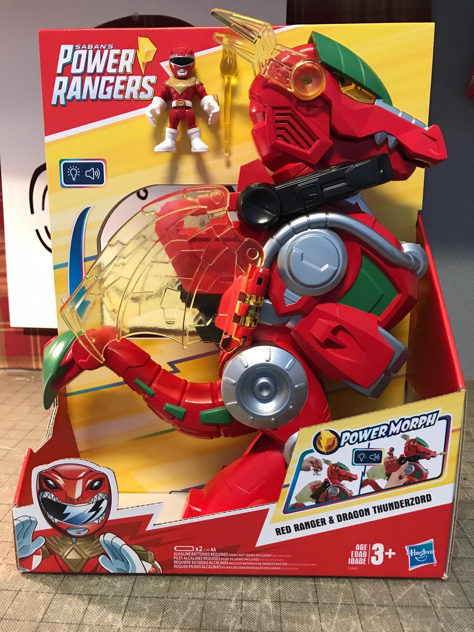 Hasbro announces new Power Rangers Beast Morphers Zords   The Nerdy