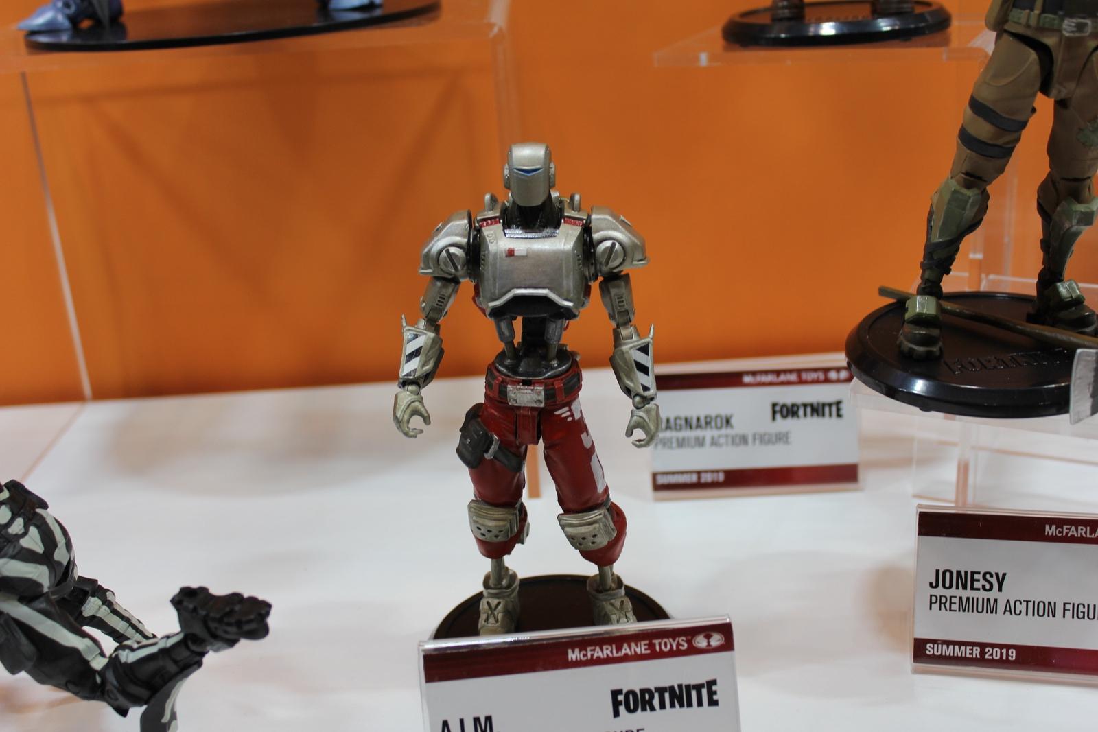 McFarlane Toys at Toy Fair: Fortnite as far as the eye can