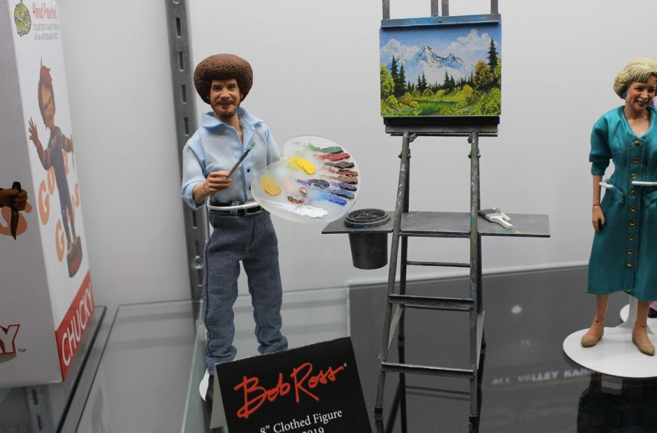 Neca At Toy Fair Bringing All The Horror And Bob Ross The Nerdy