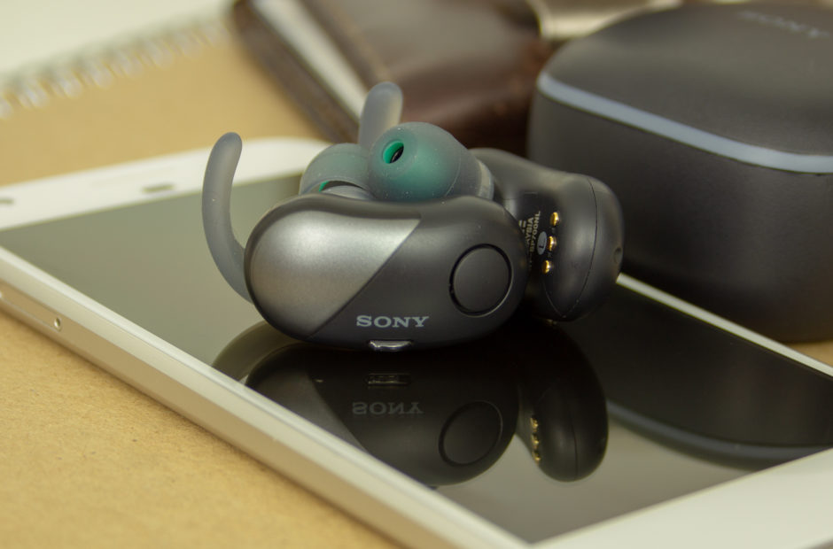ec602b39c7f Sony WF-SP700N Noise-Canceling Earbuds Review – Truly Comfortable, Truly  Wireless