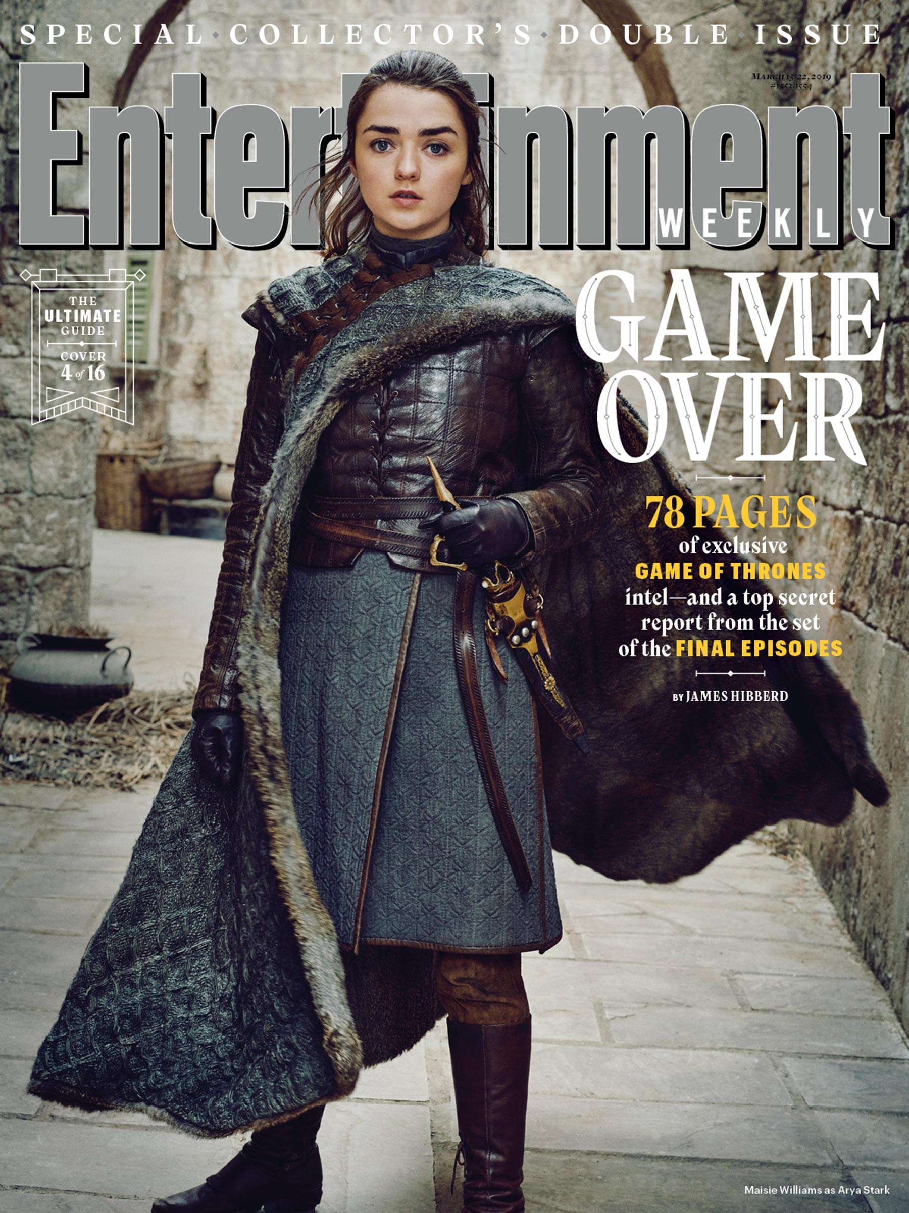 game of thrones season 8 graces 16 entertainment weekly covers. Black Bedroom Furniture Sets. Home Design Ideas