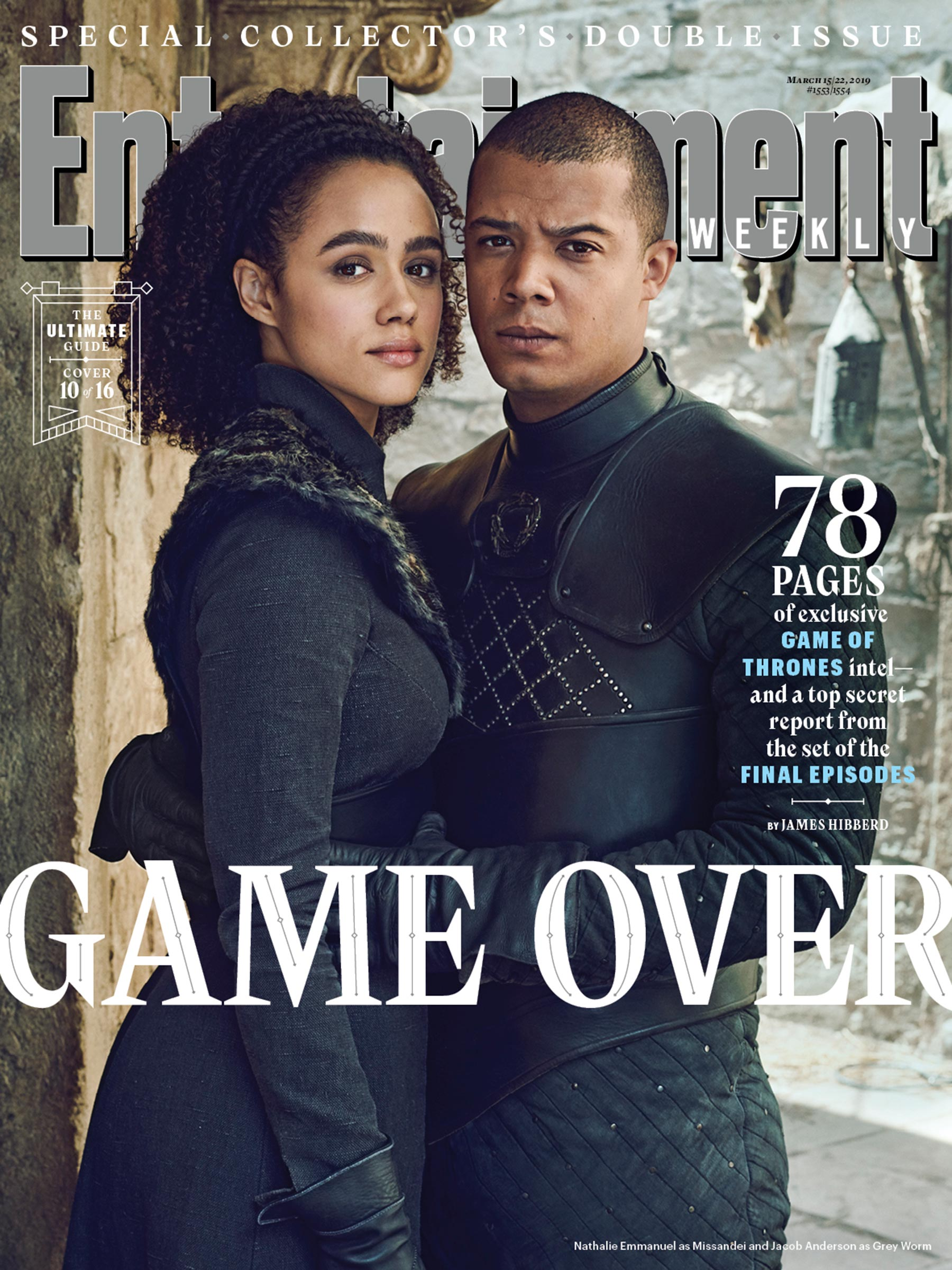 game of thrones season 8 graces 16 entertainment weekly covers