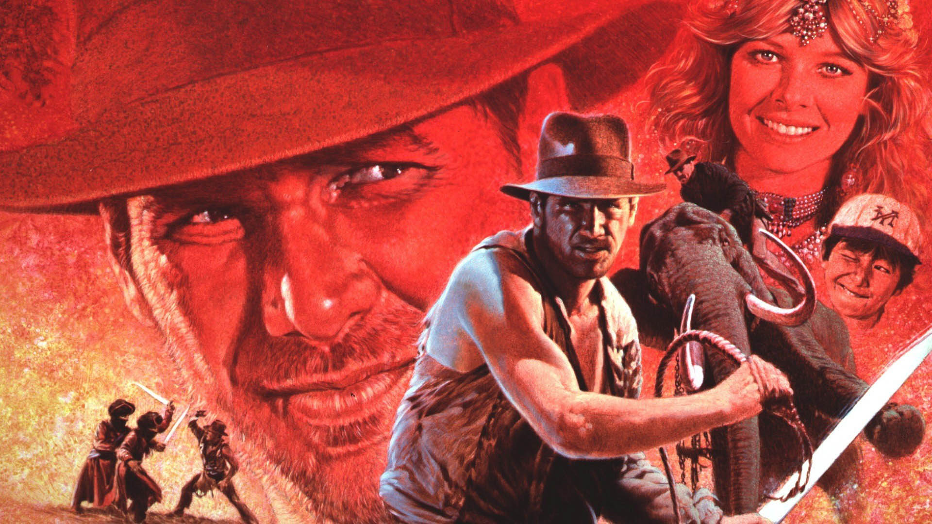 1984 Movie Project - Indiana Jones and the Temple of Doom - 01