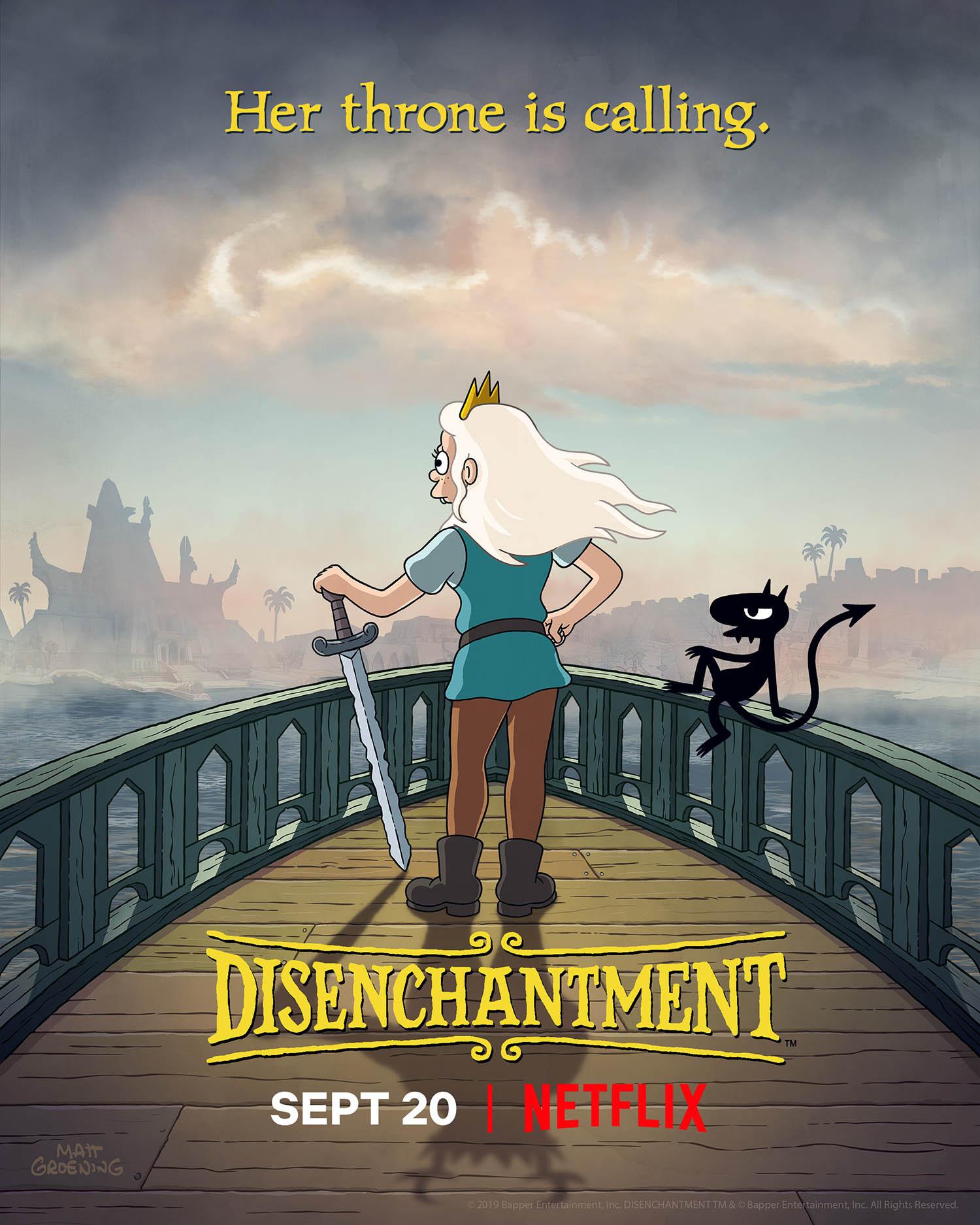 Disenchantment - season 2 - teaser poster - 01