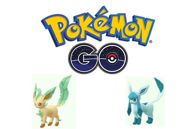 pokemon go leafeon and glaceon name trick