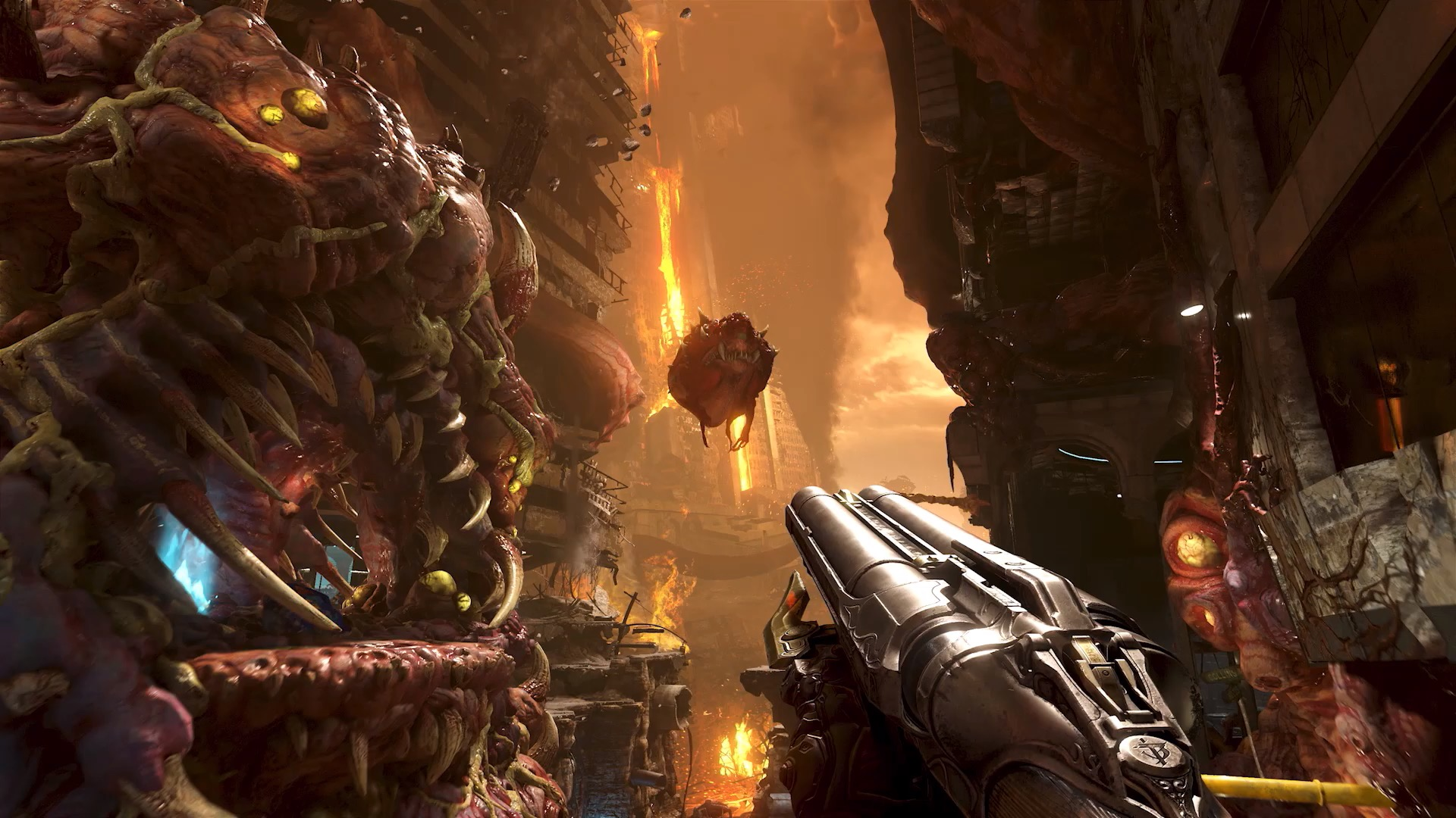 Doom Eternal looks like a bloody blast - and releases this