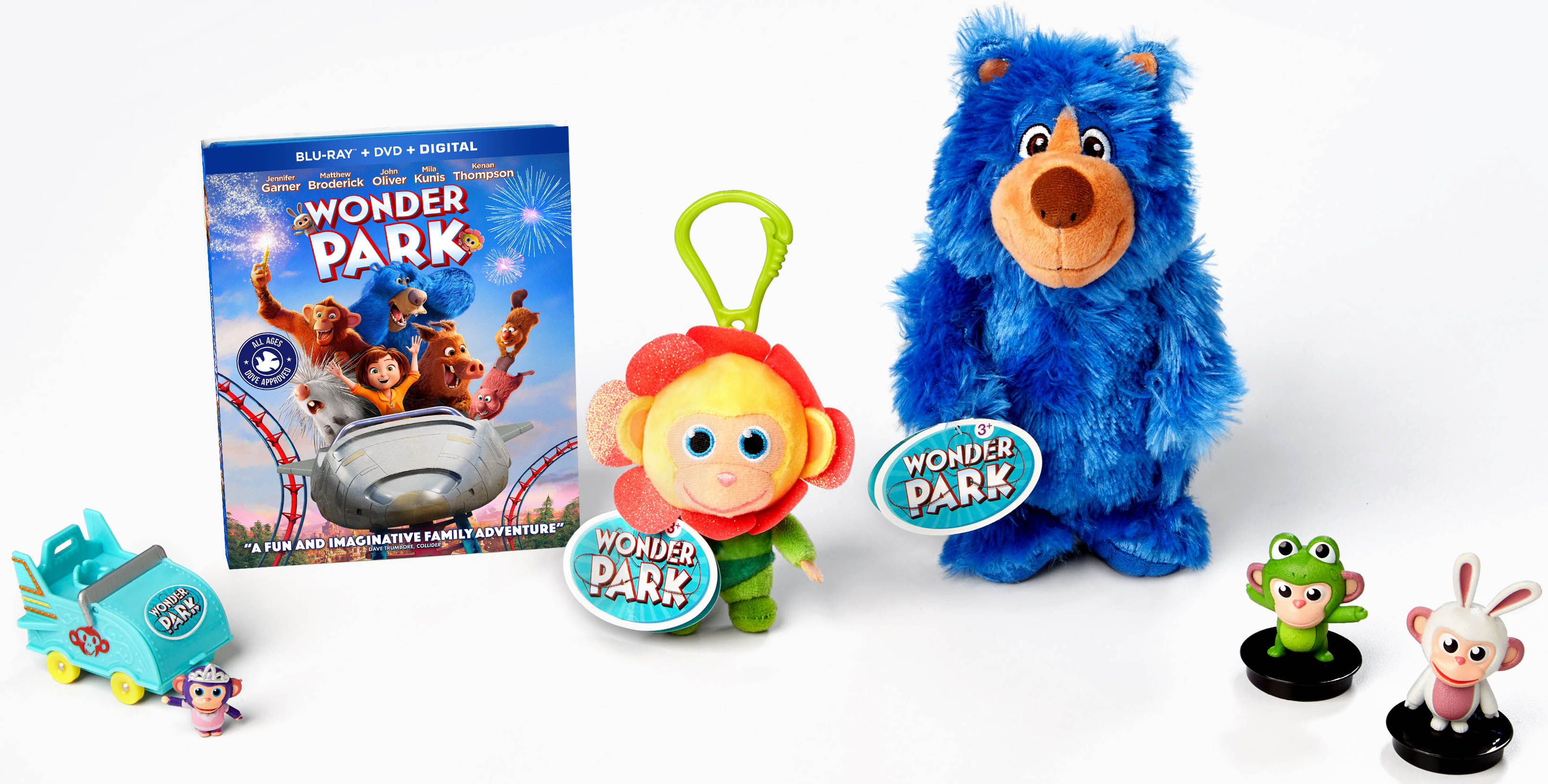 Wonder Park - Blu-ray Priza Package