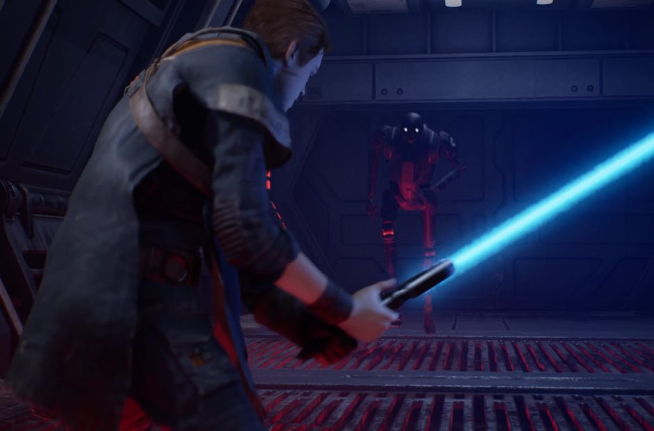 Here's your first look at Star Wars Jedi: Fallen Order's