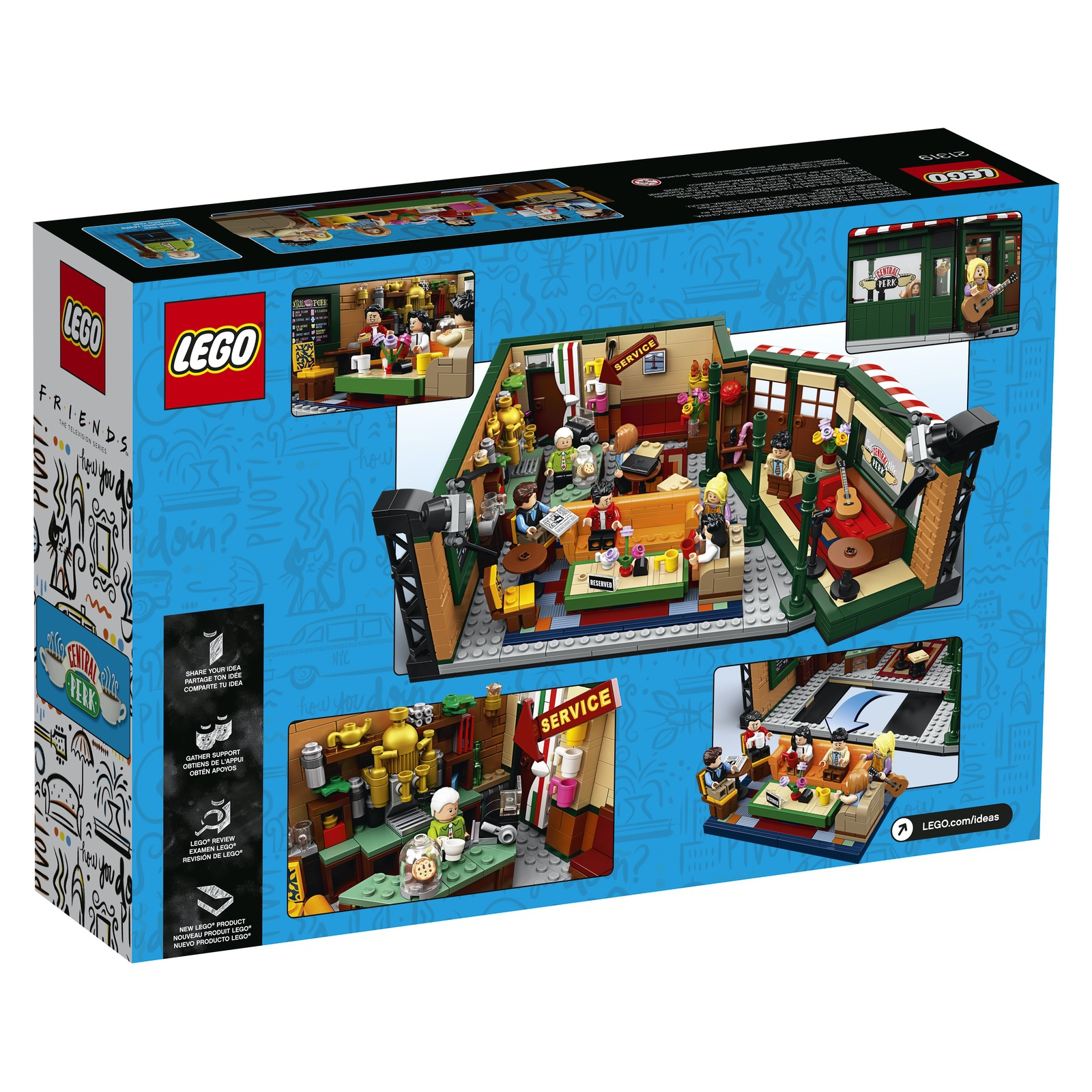LEGO Friends Central Perk 12