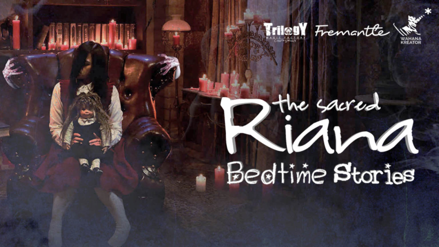 The Sacred Riana Bedtime Stories - Logo