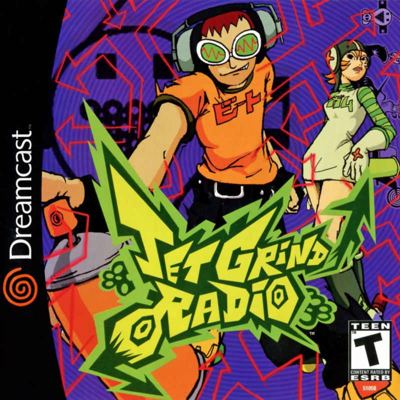 Jet Grind Radio - Dreamcast