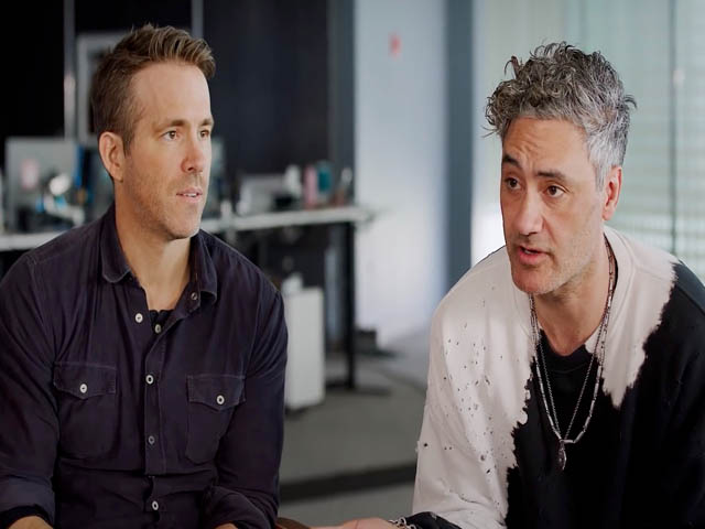 Free Guy Trailer Ryan Reynolds And Taika Waititi Are Thrilled To Meet