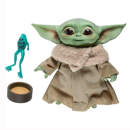 Hasbro - Star Wars - The Mandalorian - Baby Yoda - 7-inch Electronic Plush - 01
