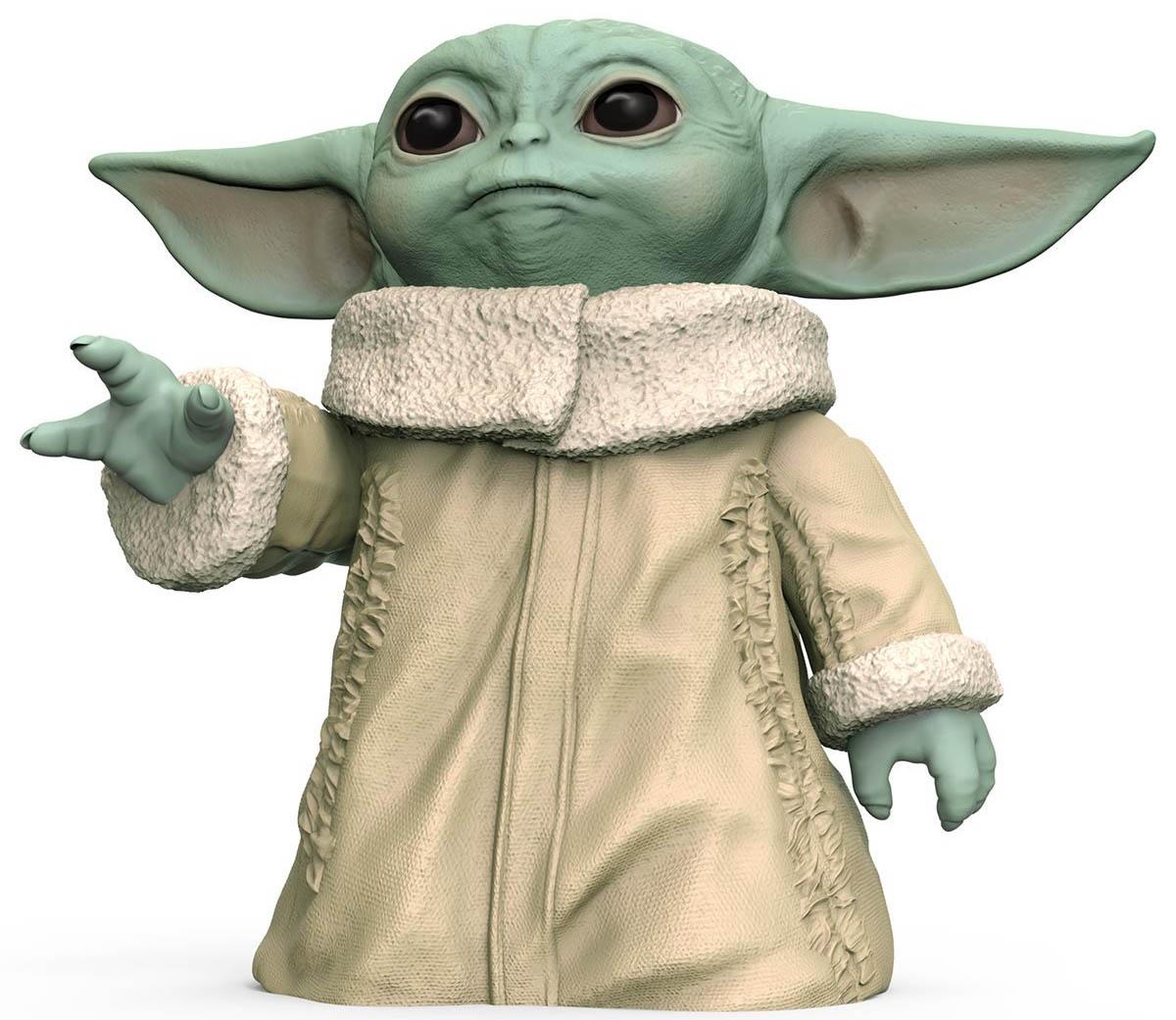Hasbro - Star Wars - The Mandalorian - Baby Yoda - Action Figure - 6-5-inch Baby Yoda - 01