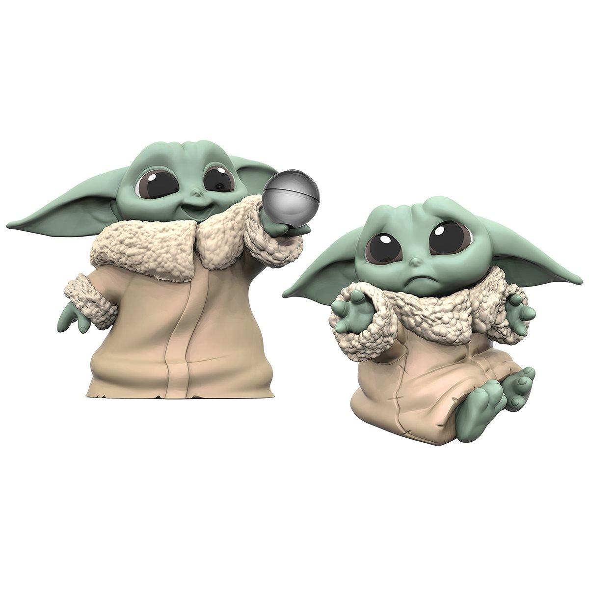Hasbro - Star Wars - The Mandalorian - Baby Yoda - Baby Bounties Hold Me and Ball Mini-Figures - 01