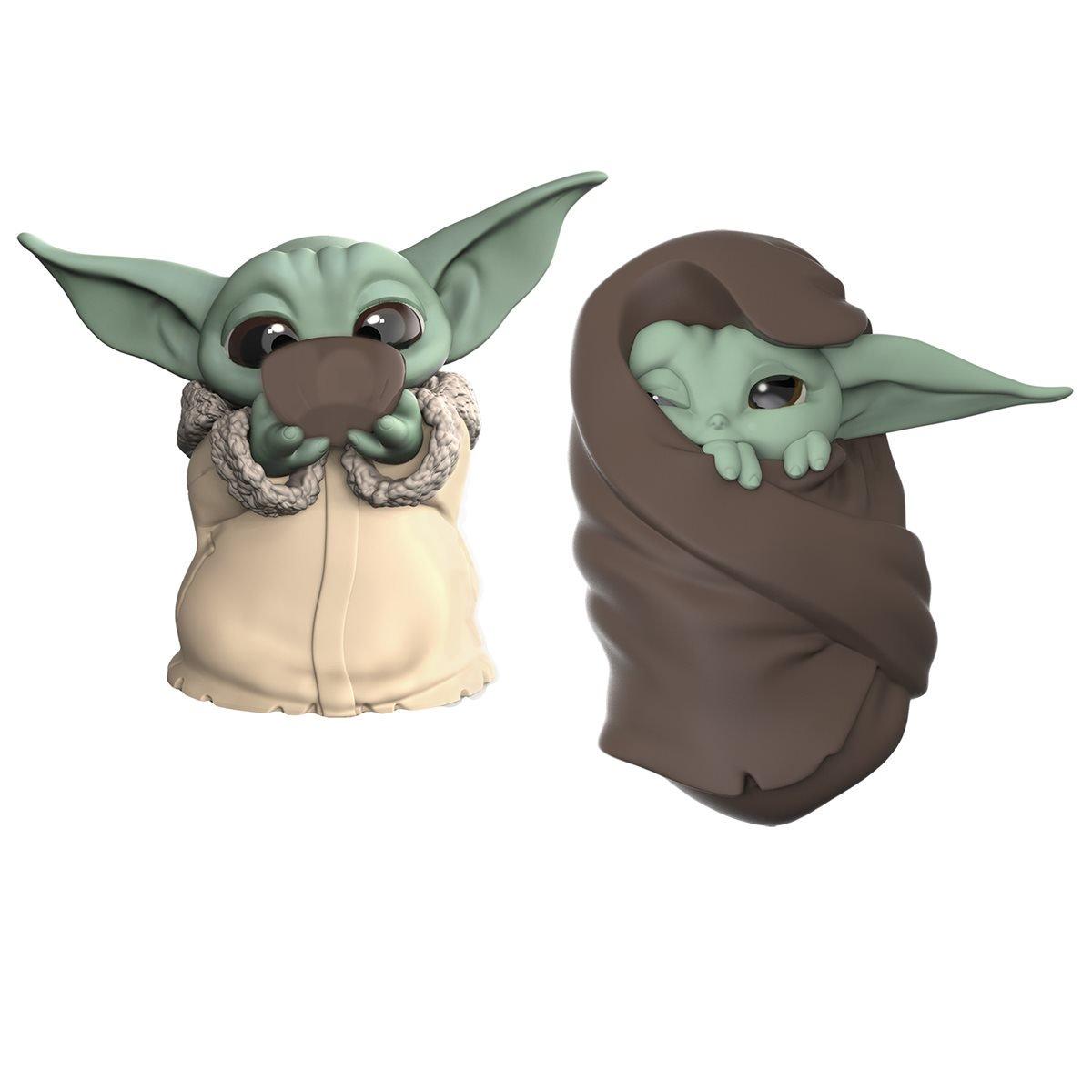 Hasbro - Star Wars - The Mandalorian - Baby Yoda - Baby Bounties Soup and Blanket Mini-Figures - 01