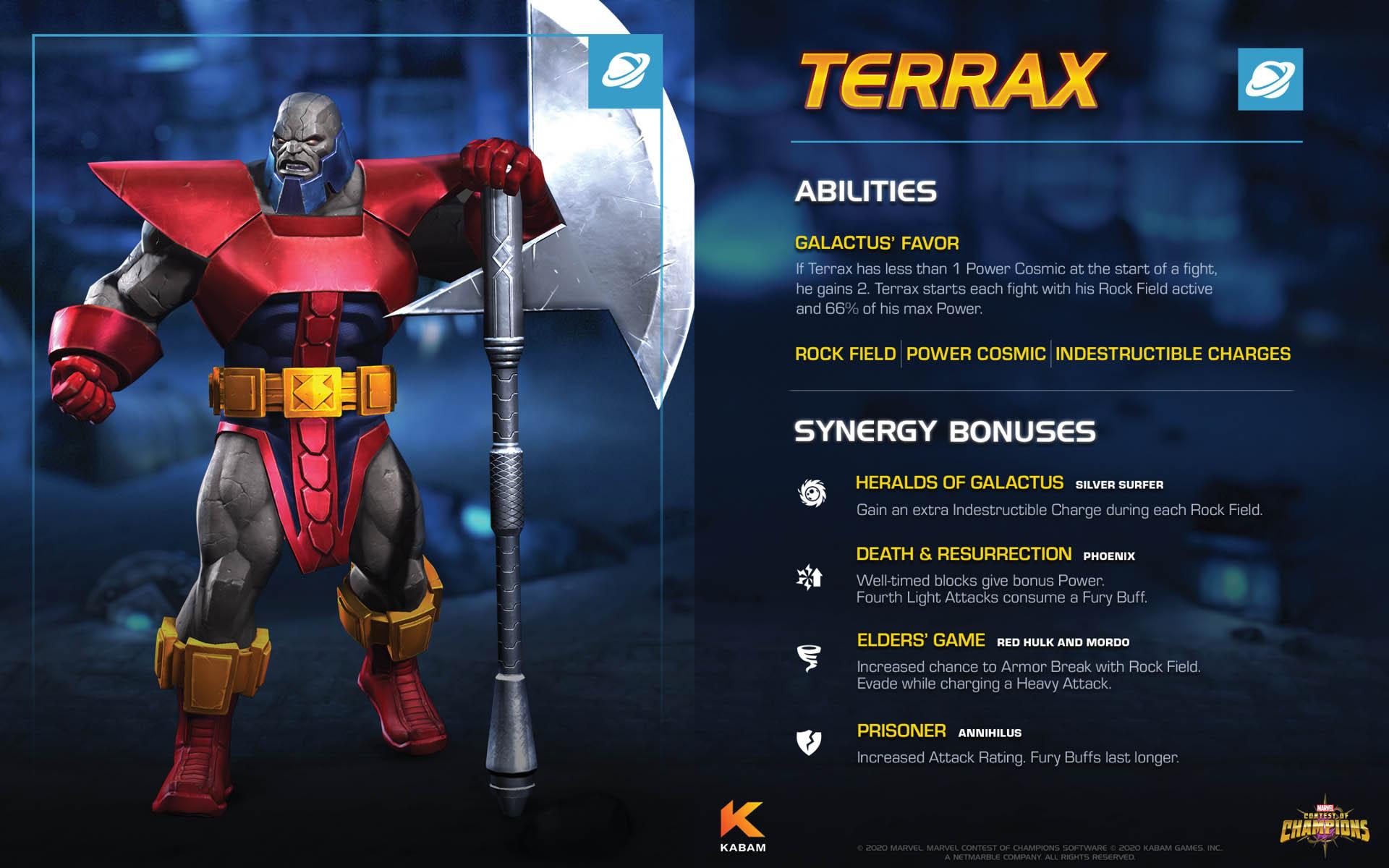 Marvel Contest of Champions - Terrax - 01