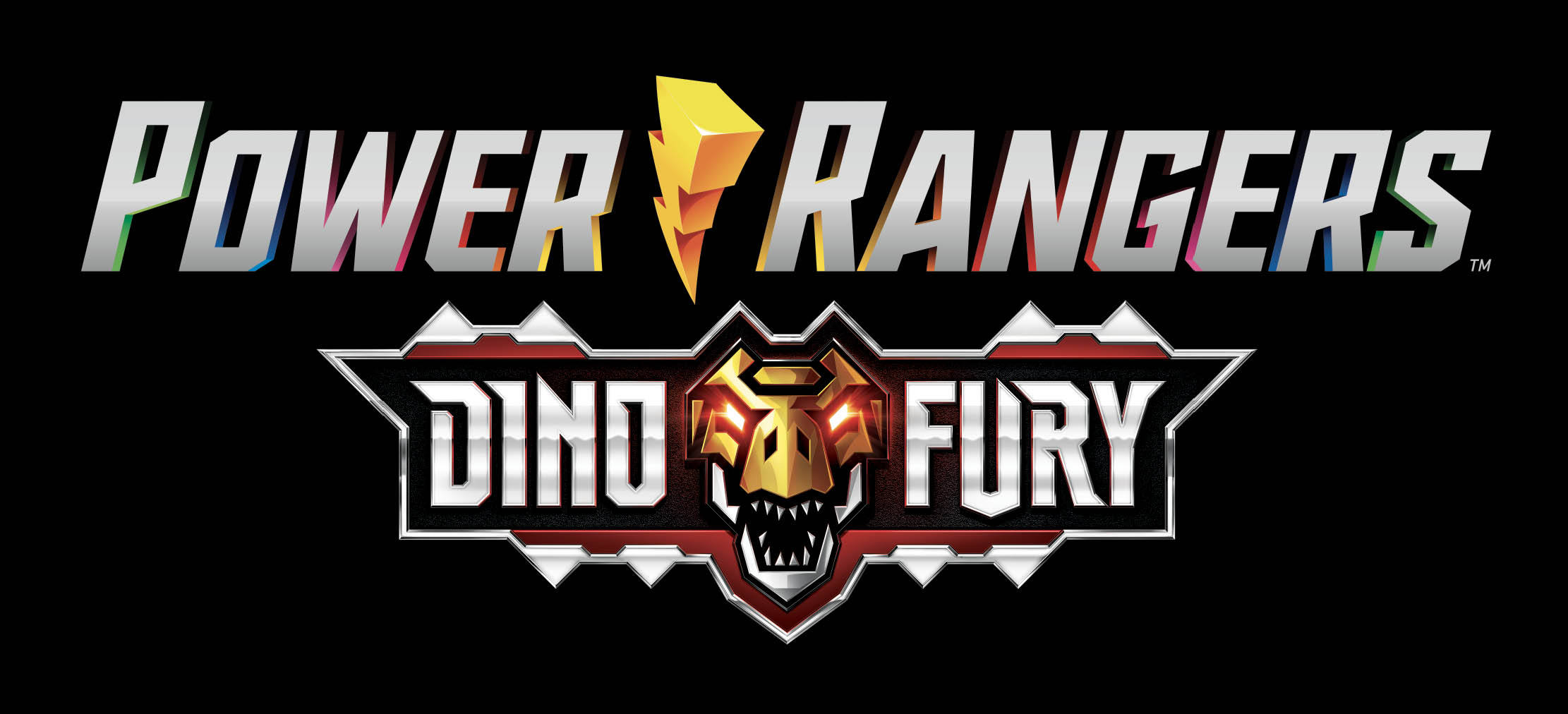 Power Rangers - Dino Fury - Logo