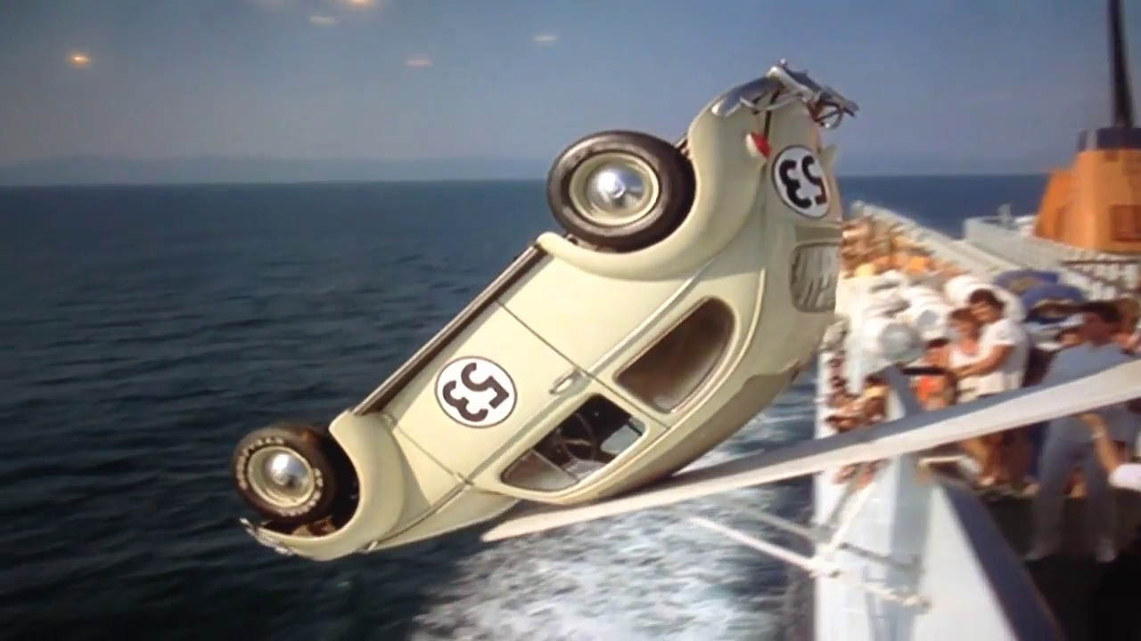 1980 Movie Project - Herbie Goes Bananas - 02
