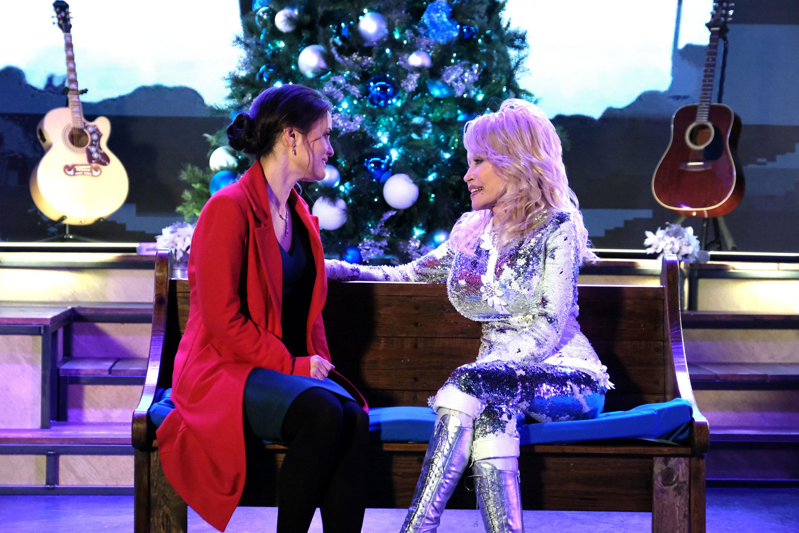 Hallmark Christmas Movies - Christmas at Dollywood - Curtis Hilbun - Crown Media - 01