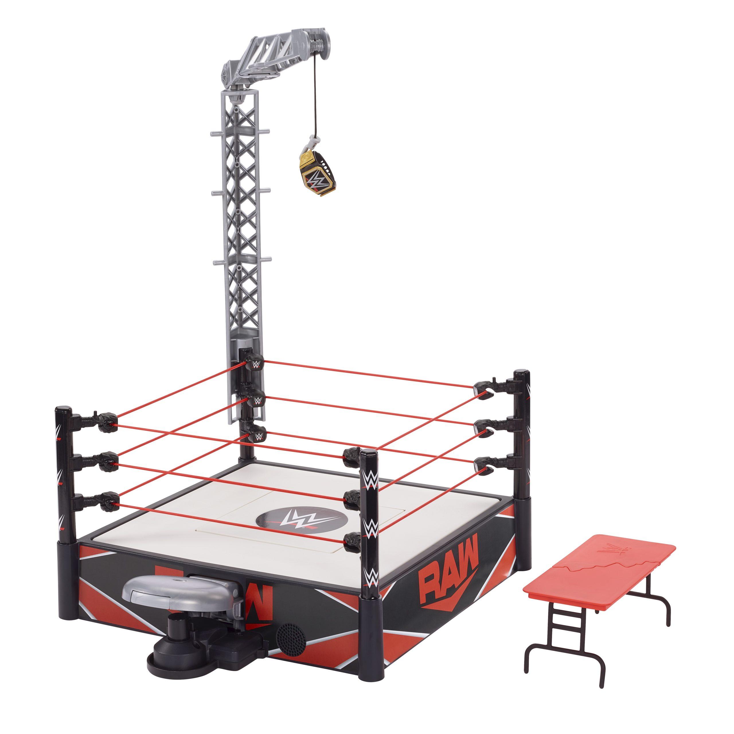 Mattel - Virtual Toy Fair 2021 - WWE Wrekkin Kickout Ring - 01