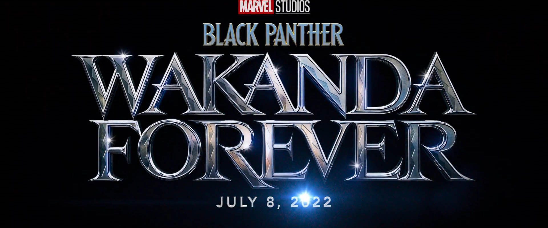 Black Panther Wakanda Forver - First Logo - 01