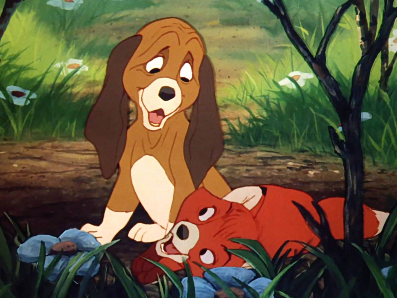 1981 Movie Project - Fox and the Hound - 01
